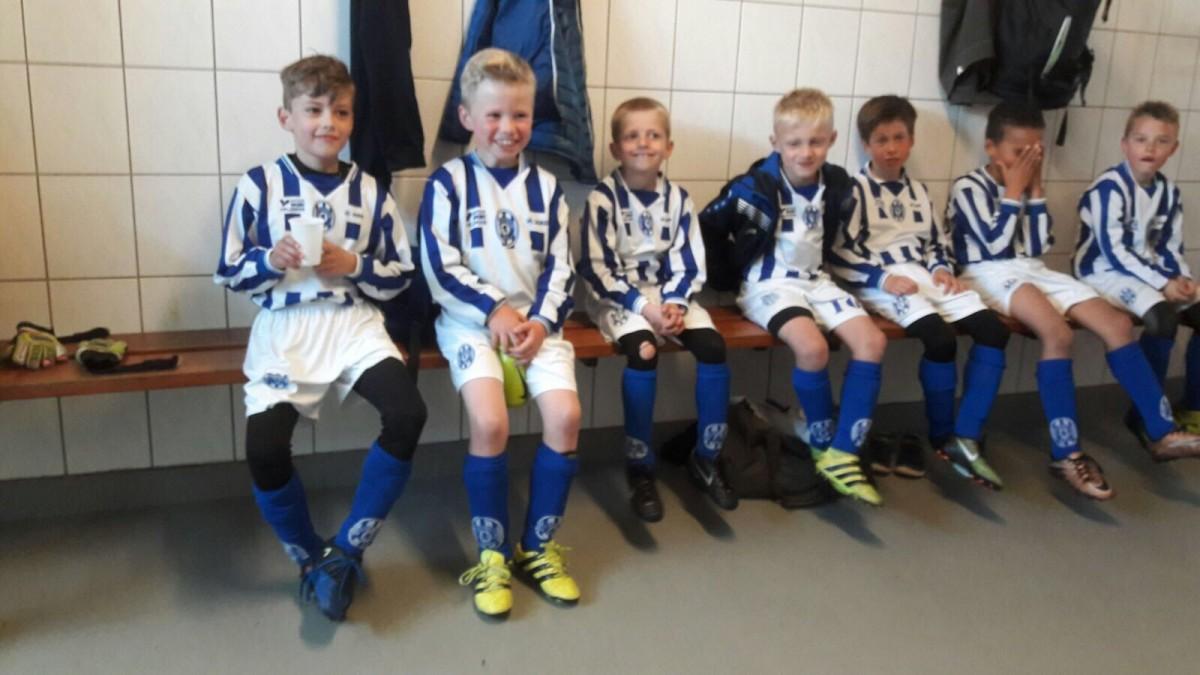 FC Castricum JO8-1 bereikt kwartfinale beker