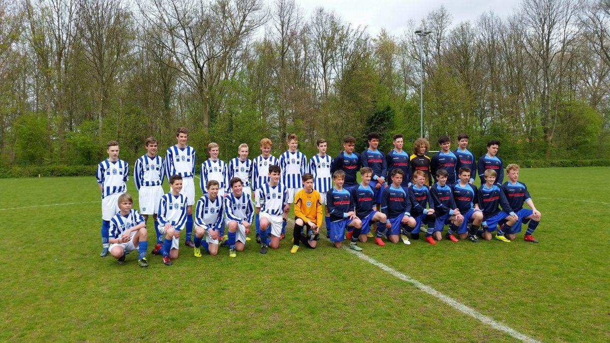 Interland FC Castricum JO15-2 – Wessex YFC U15