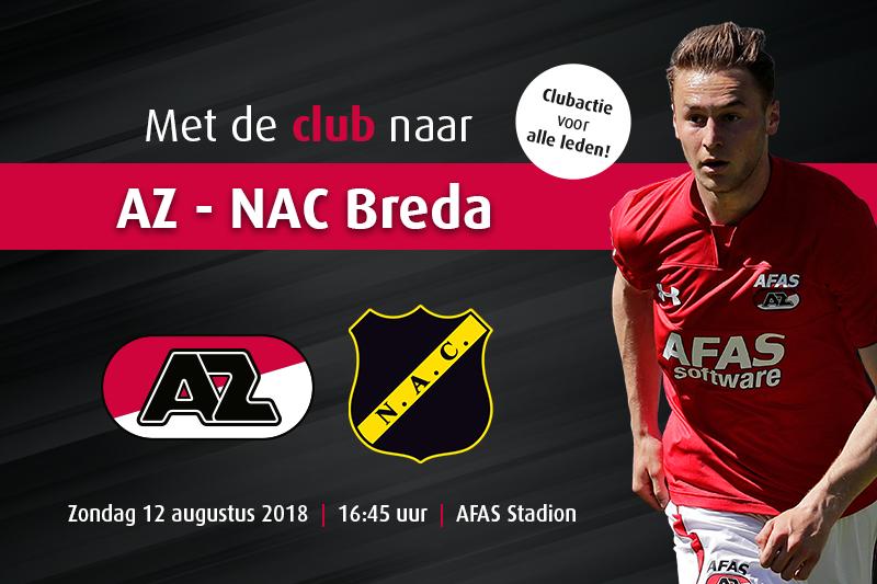 AANBIEDING AZ-NAC MET SUPPORT VAN FC CASTRICUM