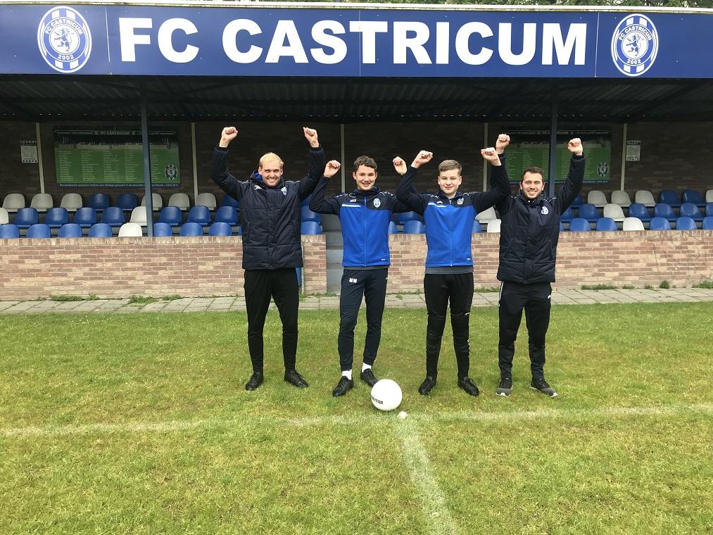 FC CASTRICUM OEFENT IN....... JUICHEN